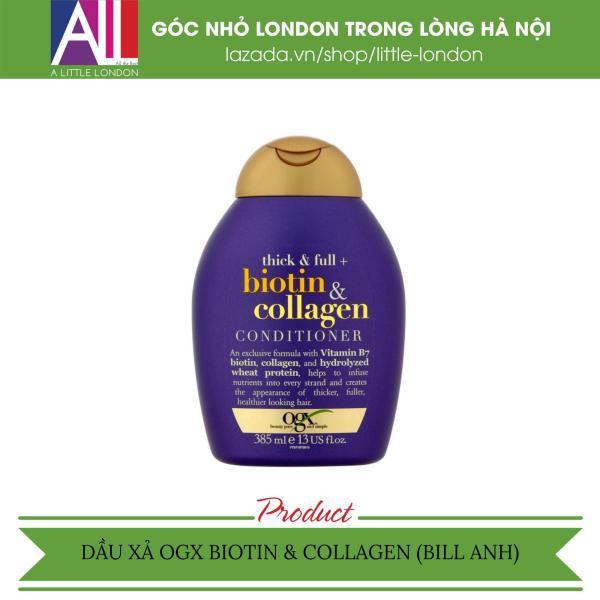 Dầu xả OGX Biotin & Collagen Conditioner 385ml (Bill Anh)