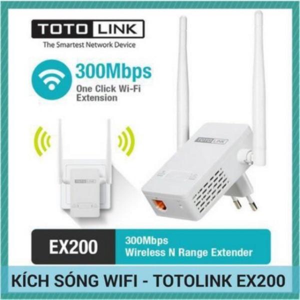 Bảng giá Bộ kích sóng Wifi Totolink EX200 tốc độ 300Mbps - Thương hiệuh Hàn Quốc Phong Vũ