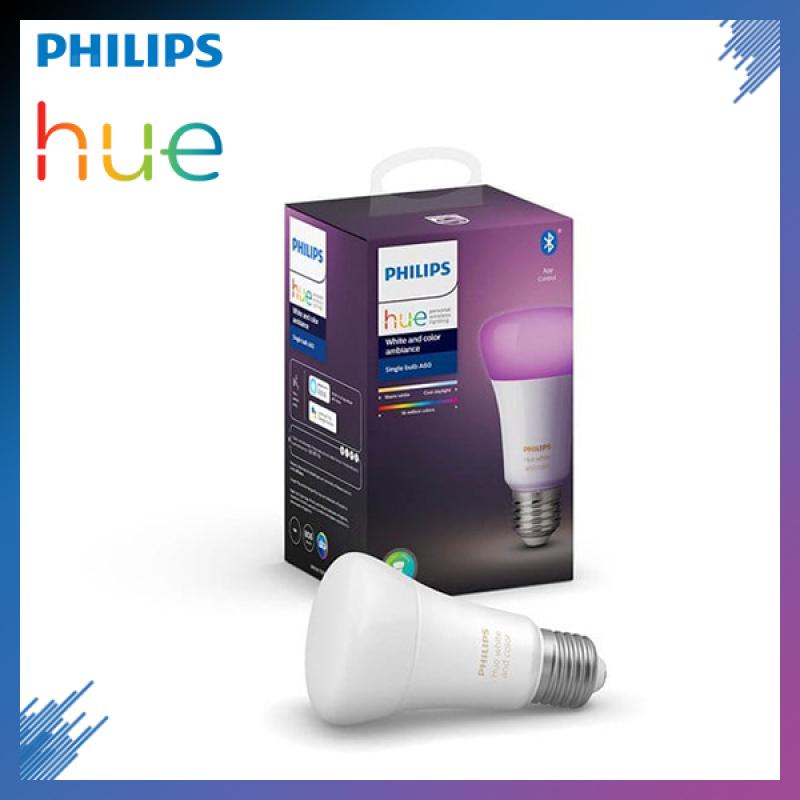Bóng đèn thông minh Philips Hue White and Color Ambiance E27 Bluetooth 9W 16 triệu màu | Bảo hành chính hãng 2 Năm