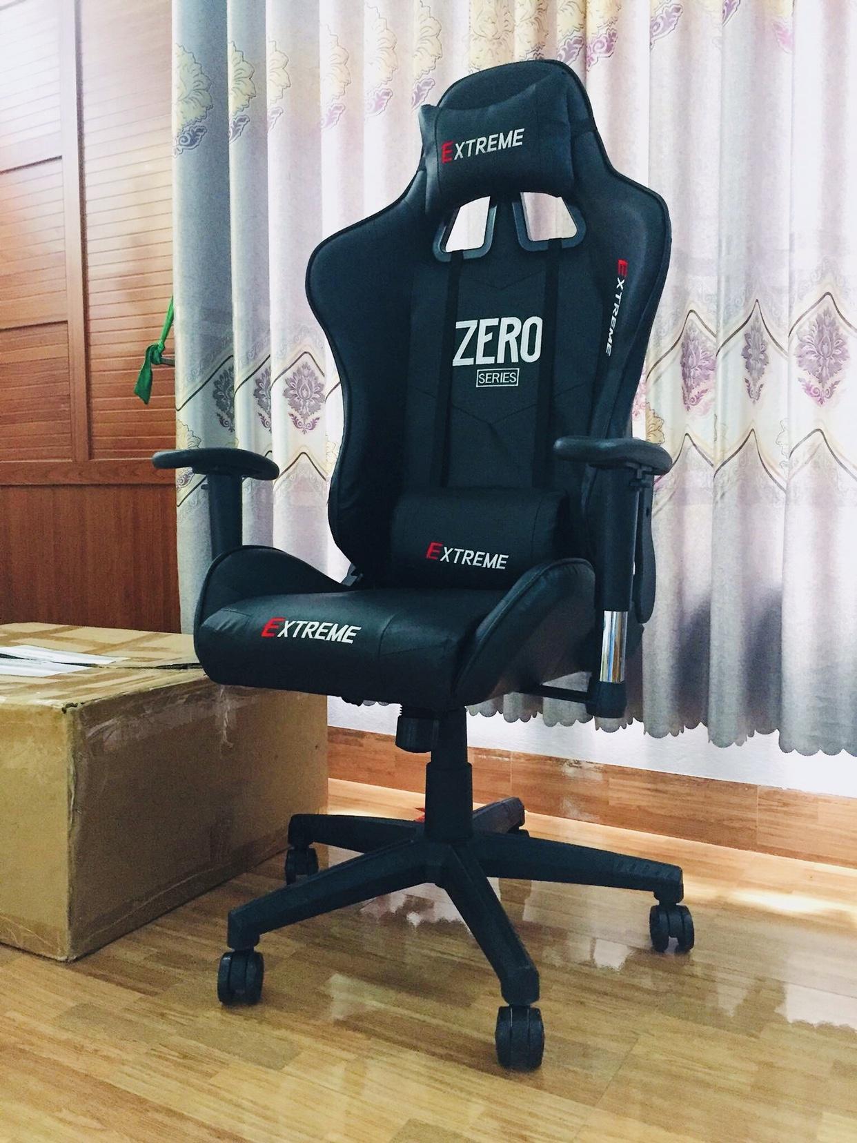 Ghế game - Ghế chơi game văn phòng Emvina EXTREME ZERO - ĐẲNG CẤP, SANG TRỌNG - Ghế Zero phù hợp cho góc làm việc, học tập, game thủ - Thiết kế bánh xe, Xoay tròn, Ngã 180 độ, Da cao cấp - Nhiều màu - Emvina Vietnam Lắp đặt và Bảo hành