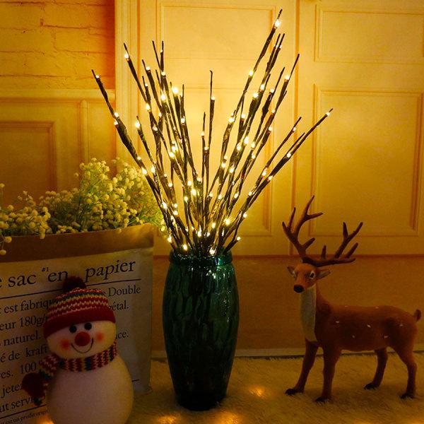 Bảng giá Nhánh Cây Liễu LED Đèn Hoa 20 Bóng Đèn Cao Bình Phụ Liễu Twig Trang Chủ Giáng Sinh Tiệc Cưới Đèn Trang Trí Đèn