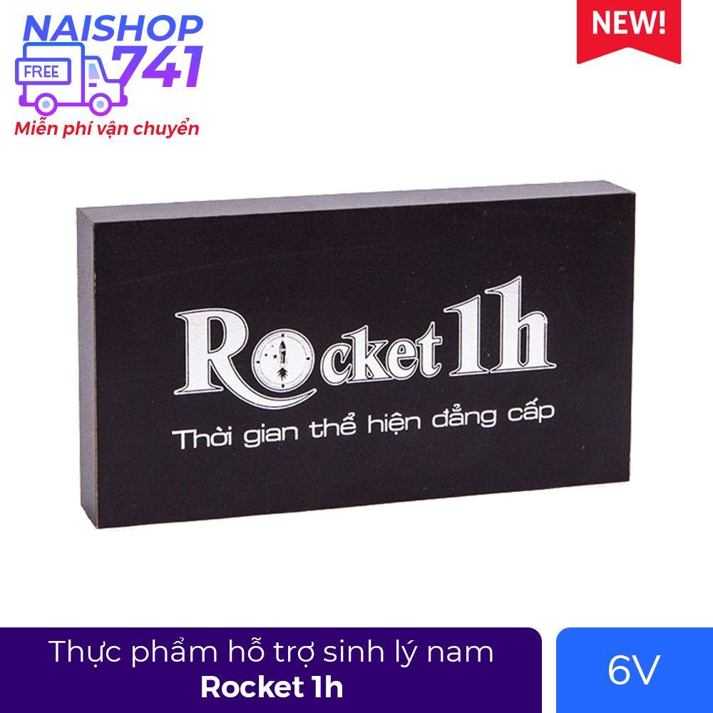 Rocket 1h (Hộp 1 vỉ 6 viên)