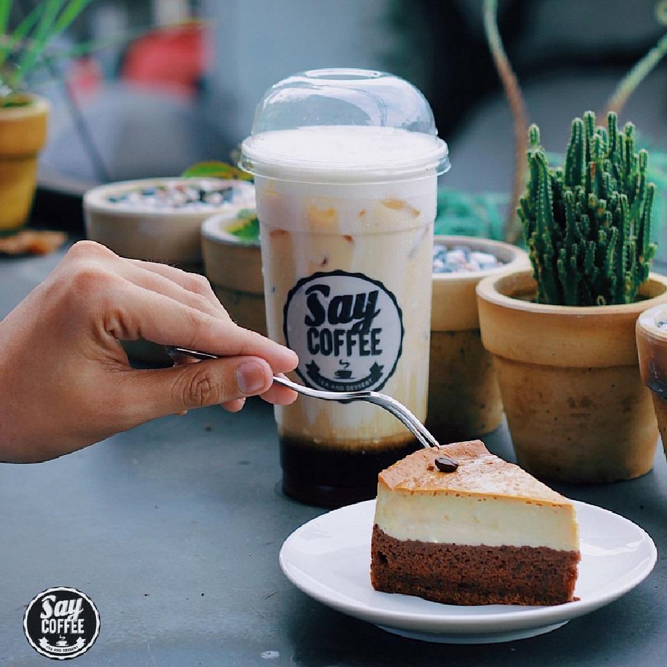 Giá Cực Tốt Để Sắm HCM - Say Coffee Tea & Dessert - Evoucher Giảm 55% Toàn Menu Nước Uống Tại Tất Cả Chi Nhánh