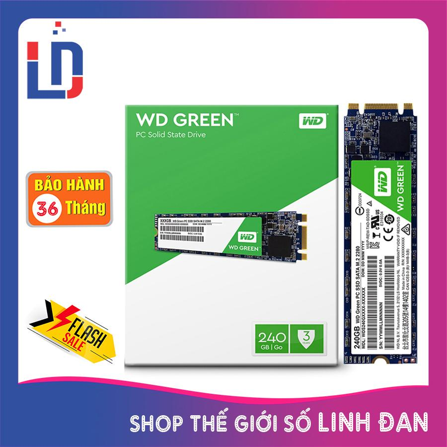 Ổ cứng SSD WD Western Digital Green 240GB M.2 SATA III