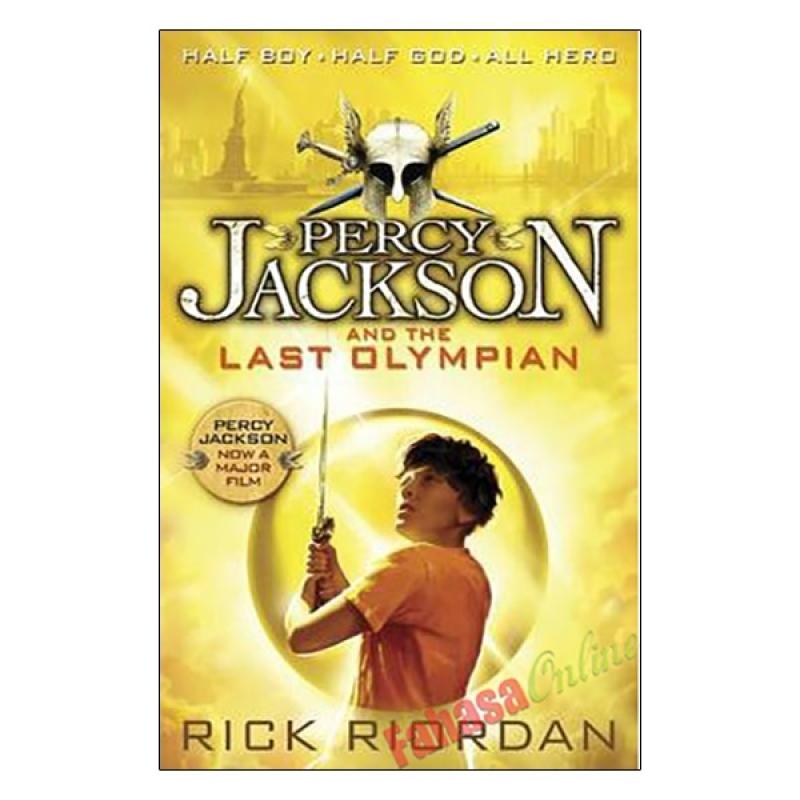 Fahasa - Percy Jackson And The Last Olympian - Book 5 (R/I)