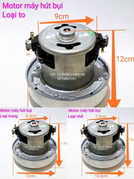 Motor động cơ máy hút bụi đa năng - 100% dây đồng (chọn đúng cỡ khi đặt hàng) - Mô tơ các size cỡ