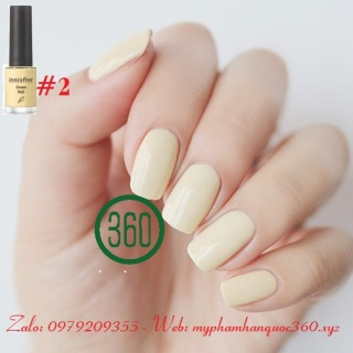 Sơn móng tay Innisfree Green Nail 2 (6ml) - màu 2 thumbnail