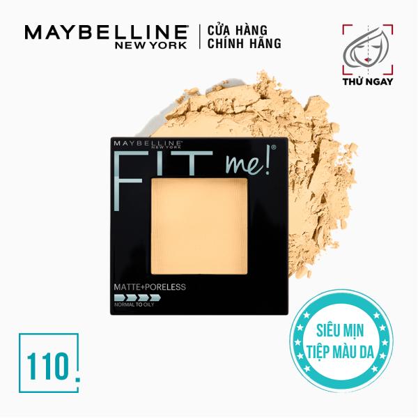 Phấn Phủ Mịn Lì Tự Nhiên Maybelline Fit Me Matte Poreless Powder 8.5g giá rẻ