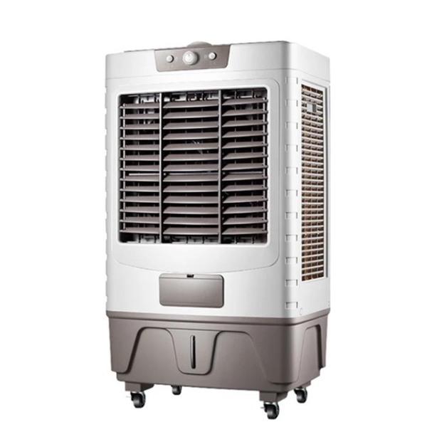 (động cơ đồng tặng 2 đá khô)-Quạt điều hòa 65L 300W 8000m3 gió LZ-80B cao cấp- Quạt điều hòa hơi nước- Bảo hành 1 năm