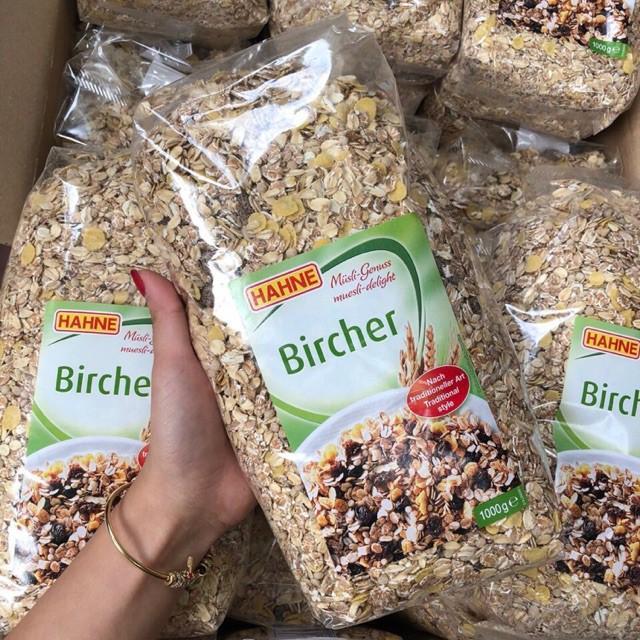 Ngũ Cốc Trái Cây Hahne Muesli Bircher Không đường 1kg Nhập Từ Đức- ăn Vặt Có Giá Rất Tốt