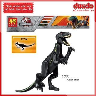 Siêu khủng long sát thủ INDORAPTOR Jurassic World - Đồ chơi Lắp ghép Xếp hình Minifigues Mini LeLe POLAR BEAR Mô hình thumbnail