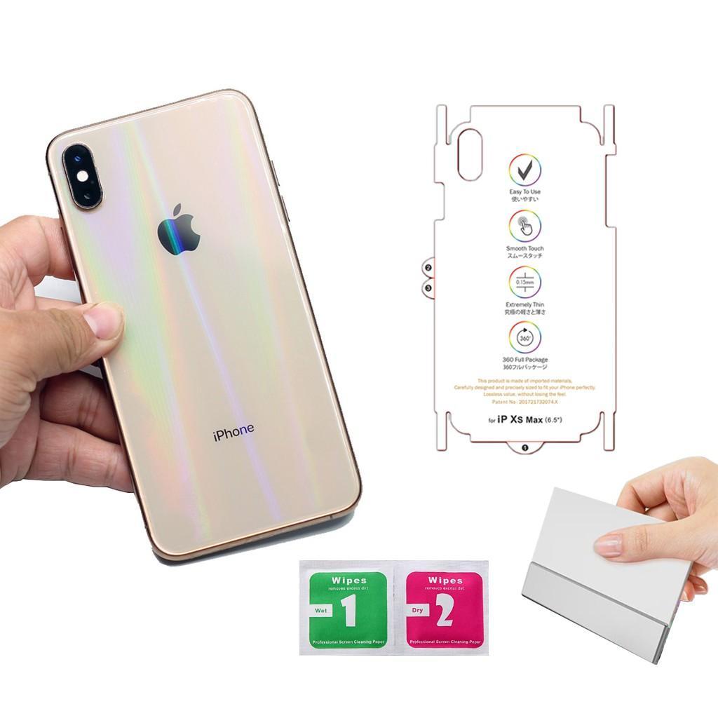 Tấm Dán PPF 7 Sắc Cầu Vòng 2019 Chống Xước & đặc Biệt TỰ PHỤC HỒI VẾT XƯỚC Mặt Sau Iphone 6,7,8,6p,7p,8p,X,XS,XSMAX - THẾ GIỚI SỈ LẺ 3 Giá Siêu Rẻ