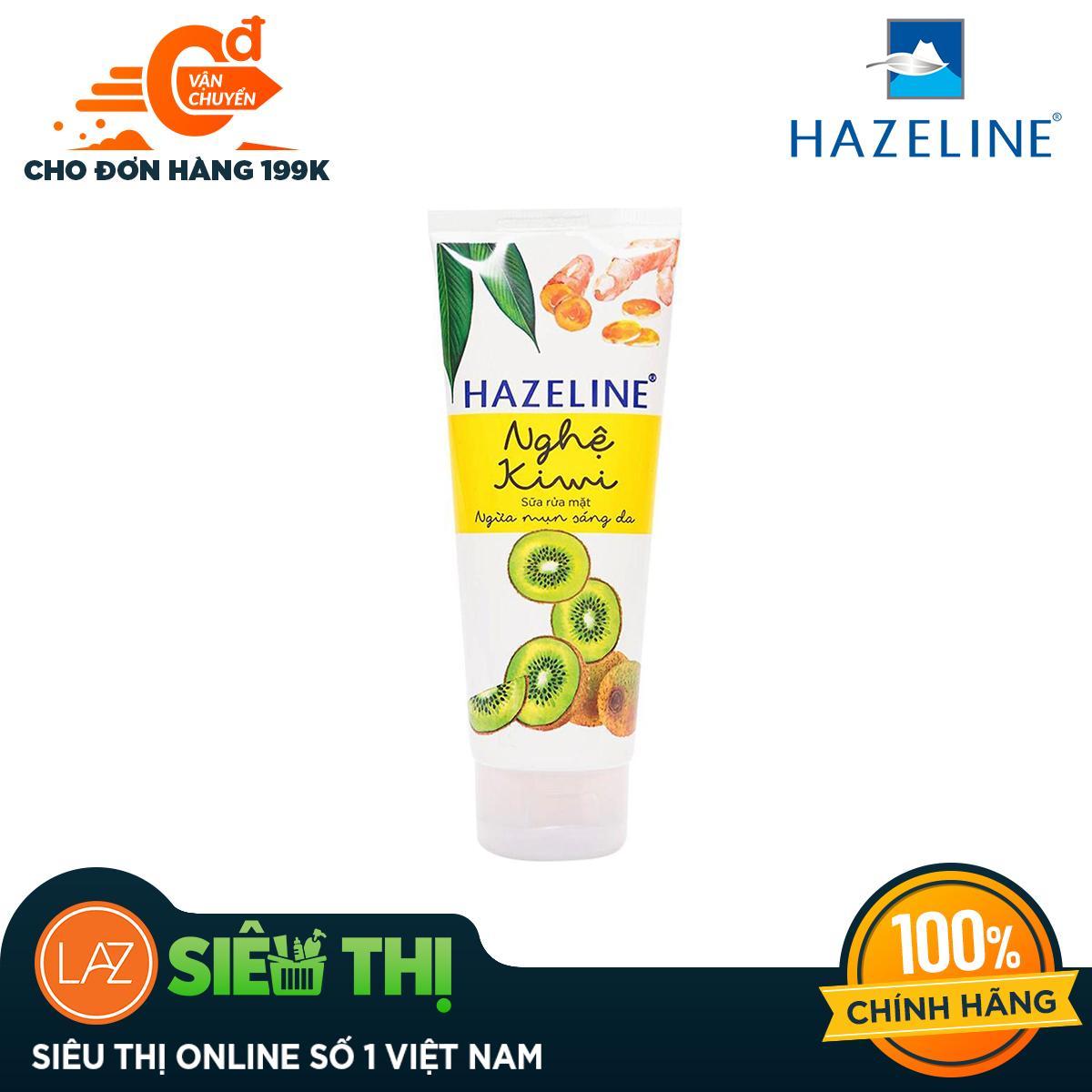 [Siêu thị Lazada] - Sữa Rửa Mặt Hazeline Nghệ Và Kiwi 100G