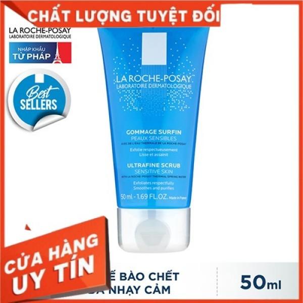[CHÍNH HÃNG]Gel làm sạch tế bào chết dành cho da nhạy cảm La Roche-Posay Ultra Fine Scrub Sensitive Skin 50ml