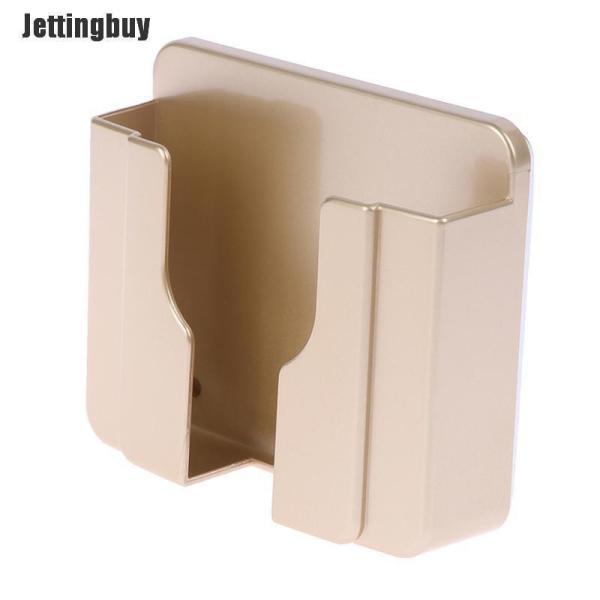 Jettingbuy Trang Trí Nội Thất Chủ Sở Hữu Tường Sạc Chủ Ổ Cắm Hộp Lưu Trữ Điện Thoại Di Động Chủ Vàng
