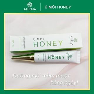 Ủ Môi Honey ATHENA cho môi Khô, Nứt Nẻ Giúp môi căng bóng thumbnail