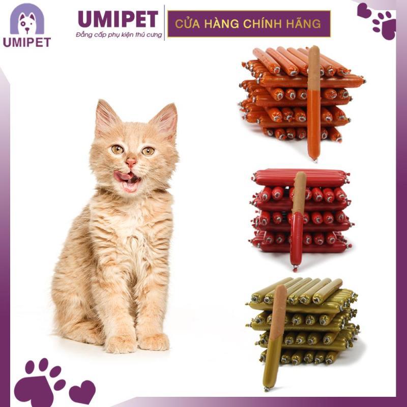 Xúc xích ăn liền Chó Mèo UMIPET gói 30 chiếc - Xúc xích ăn liền cho Chó và cho Mèo cao cấp