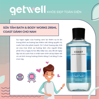 [HCM]COAST Sữa Tắm Toàn Thân Bath & Body Works Shower Gel (295ml) thumbnail
