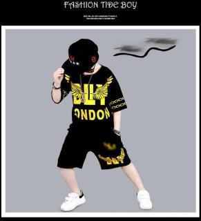 set bộ london dành cho bé trai 5-10 tuổi chất vải mềm mịn thoáng mát thumbnail