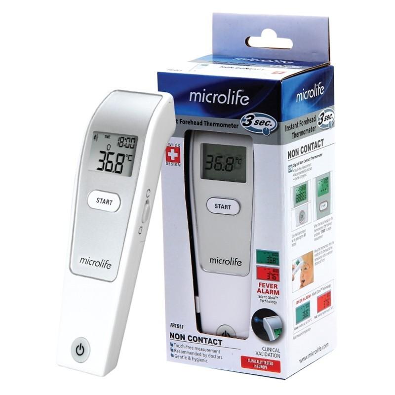 Nhiệt kế điện tử hồng ngoại đo trán Microlife