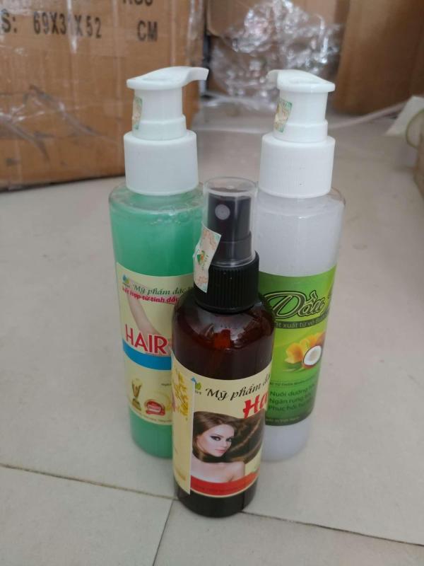 (có tem chính hãng) combo tinh dầu bưởi 100ml và dầu gội bưởi kết hợp với dầu xả dừa