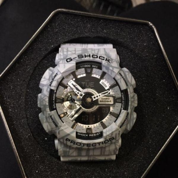 Đồng hồ nam G-Shock GA-110SL-8A REPLICAAA bảo hành 6 tháng siêu chống nước + Tặng kèm pin dự phòng + PHỐ ĐỒNG HỒ bán chạy