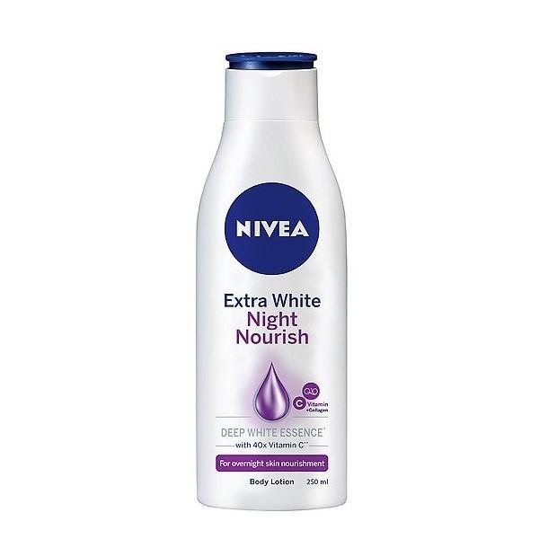 Sữa Dưỡng Thể Nivea Night White Trắng Da Ban Đêm - 200ml