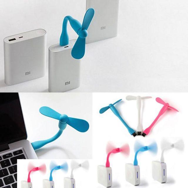 [Chống nóng/chống cúp điện] Quạt mini USB 2 cánh