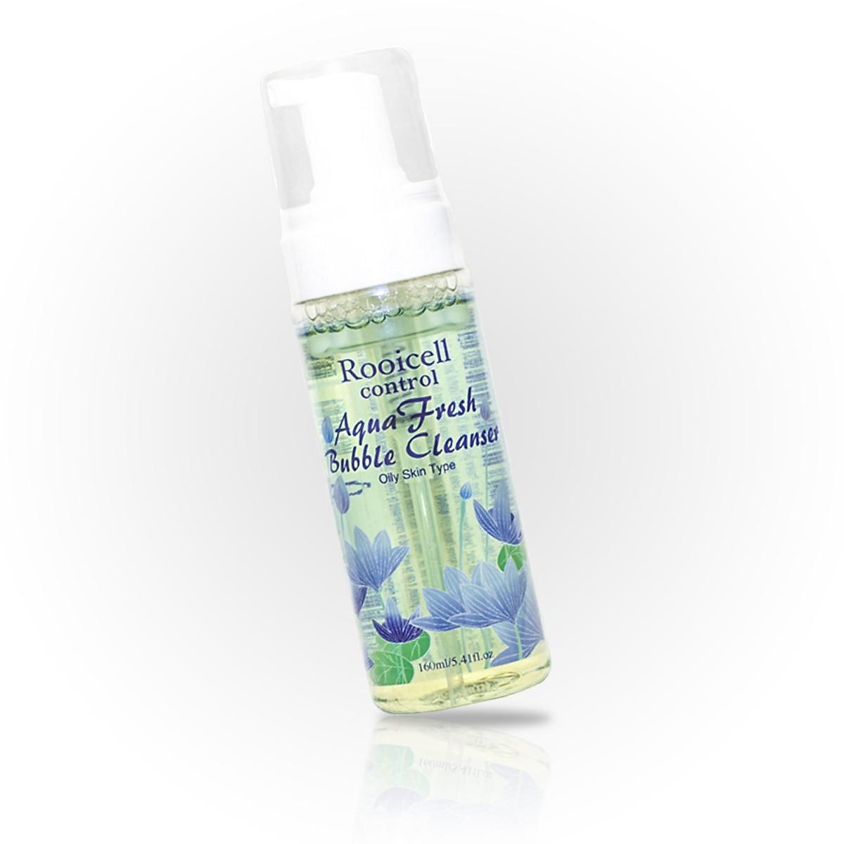 Sửa rửa mặt dành cho da nhờn, mụn Rooicell Aqua Fresh Bubble Cleanser - Oil Skin cao cấp