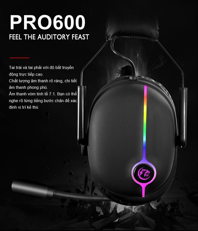 Tai Nghe CoolerPlua Proone Pro600 (7.1) Có Giá Cực Kỳ Tiết Kiệm