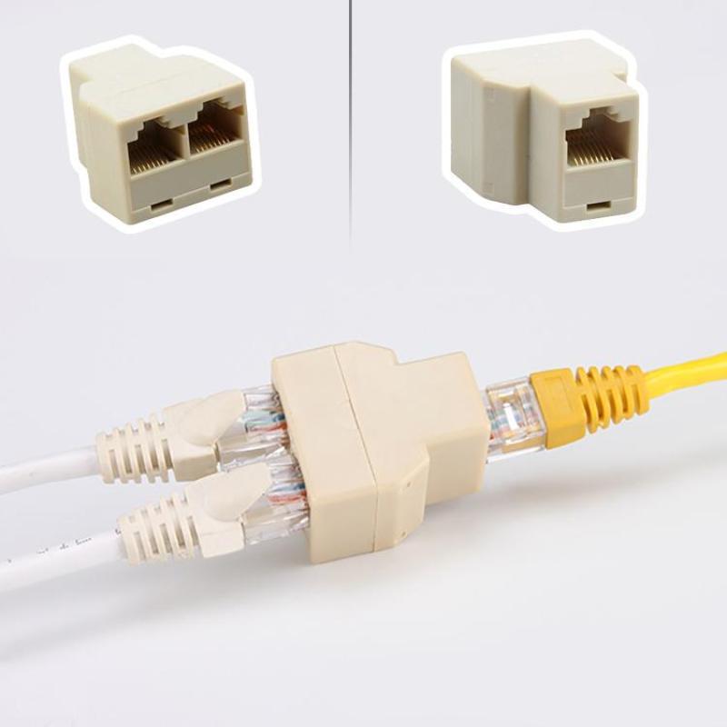 Bảng giá Combo 5 đầu chia mạng LAN RJ45 từ 1 ra 2 - Chia mạng RJ45 1 RA 2 Phong Vũ