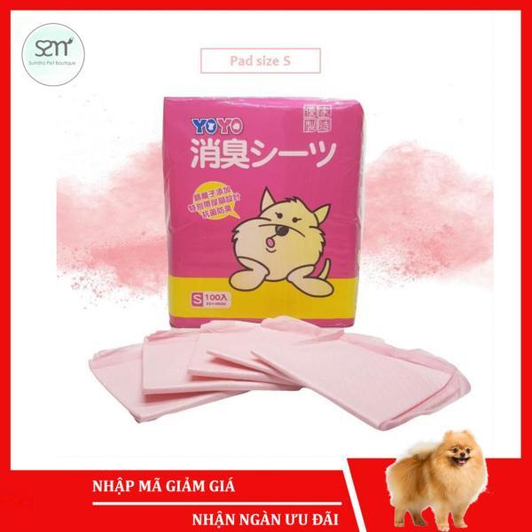 5 cái Tã lót vệ sinh chó mèo size S (33x45cm) (có mùi hương) Sumiho công nghệ Ý