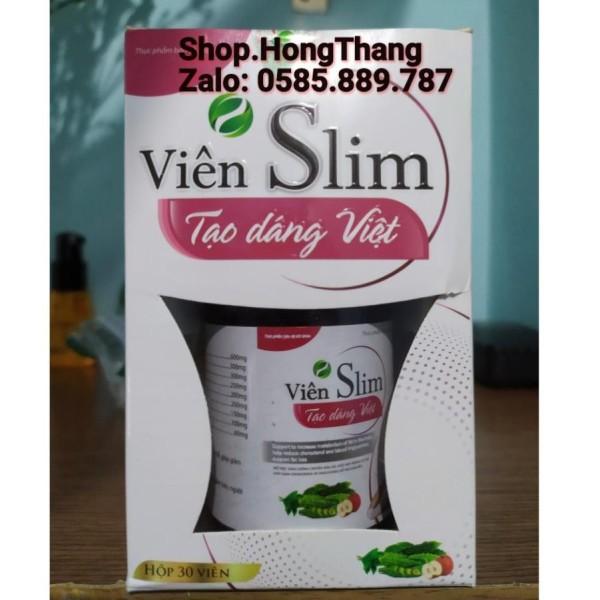 Hỗ trợ giảm cân viên SLIM tạo dáng việt giữ dáng, tạo vóc giáng thon ngọn
