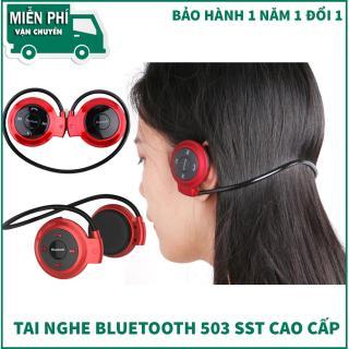 Tai nghe Bluetooth chụp tai, tai nghe cho bà bầu, TOP 1 tai nghe bluetooth, tai nghe nhét tai - Tai nghe bluetooth 503TF - hàng cao cấp - giá rẻ - uy tín - chất lượng - BH uy tín 1 đổi 1 bởi DIGITEXX thumbnail