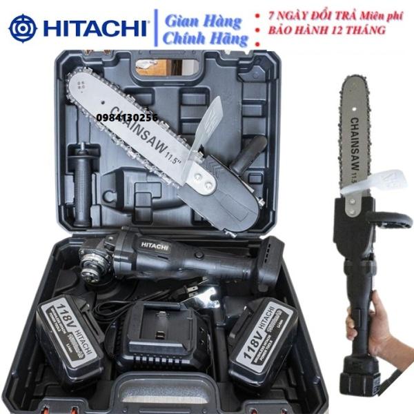 Máy mài - máy mài pin HITACHI 118V - máy mài, máy cắt không chổi than- pin 10 cell