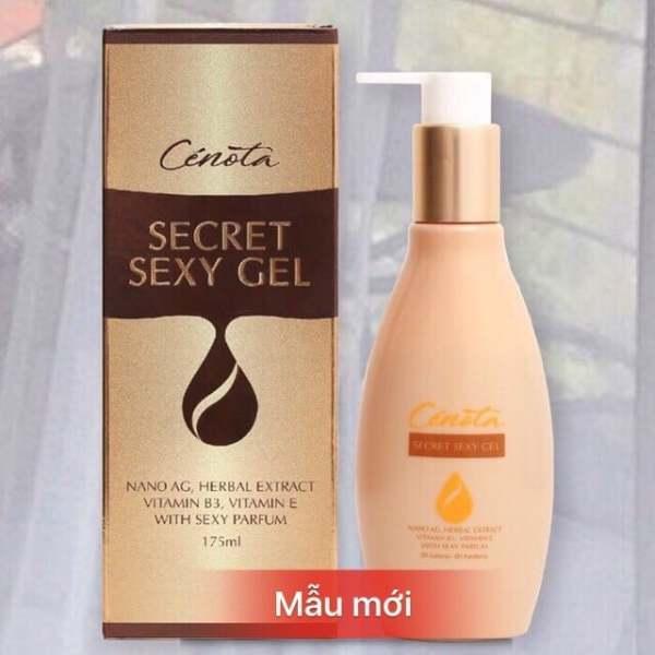 Dung dịch vệ sinh Cenota Secret Sexy Gel 175ml