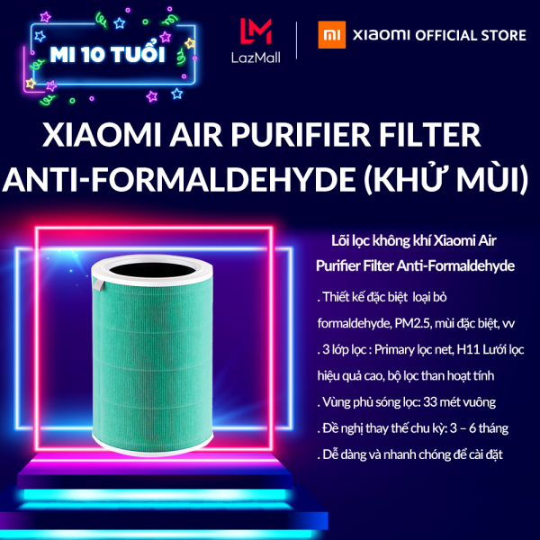 Bảng giá [XIAOMI OFFICIAL] Lõi lọc không khí Xiaomi Air Purifier Filter Anti-Formaldehyde (Khử mùi)