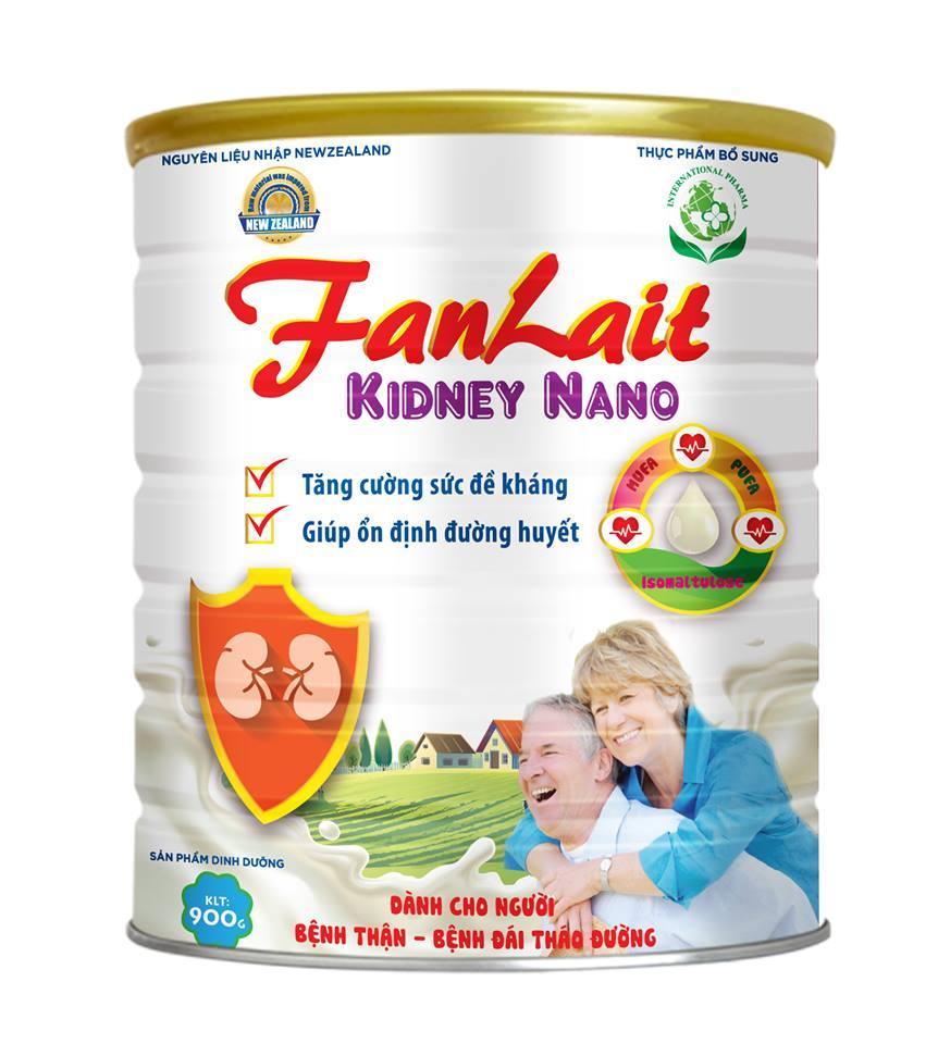 Sữa Bột Fanlait Kidney Nano 900g By Tydo Tasuamum.