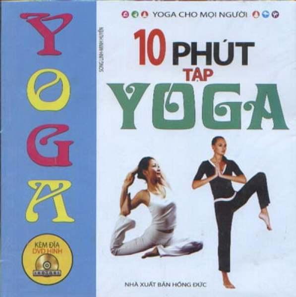 Mua Fahasa - 10 Phút Tập Yoga (Kèm DVD)