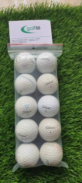 10 quả bóng golf titleist prov1 và prov1 x độ mới 70%