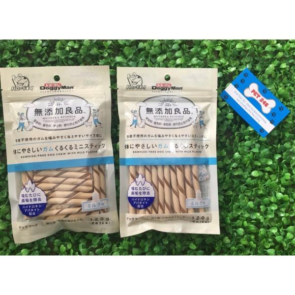 Snack Cho Chó Que Gặm Vị Sữa Doggyman