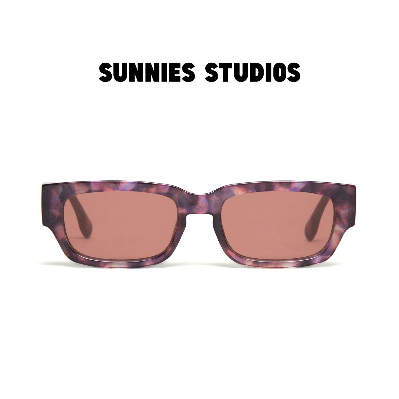 Mua Kính mát Sunnies Studios Gọng Chữ Nhật Jarvis in Mosaic