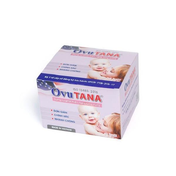 Dụng cụ phát hiện ngày rụng trứng, que thử rụng trứng Ovutana an toàn, chính xác,nhanh chóng, đáng tin cậy, sinh con theo ý muốn - Combo 6 que cao cấp