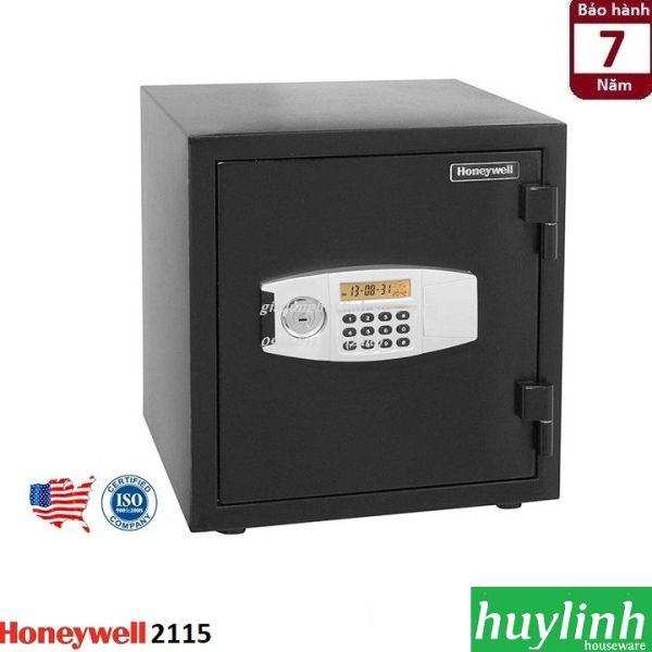 Két sắt điện tử chống cháy, chống nước Honeywell 2115 - thương hiệu Mỹ