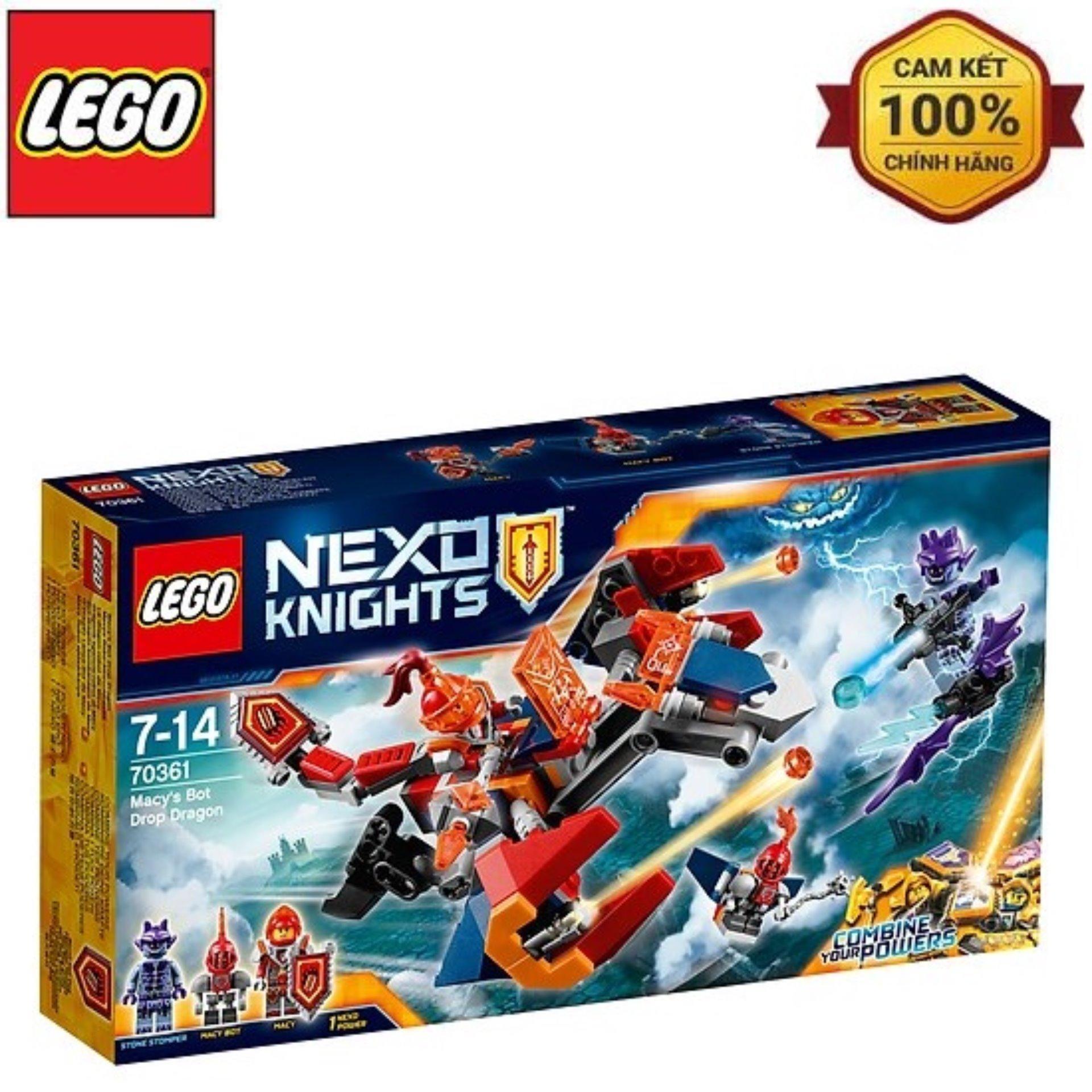 Coupon Khuyến Mại Bộ Đồ Chơi Lego Rồng Bay Máy Của Macy 70361