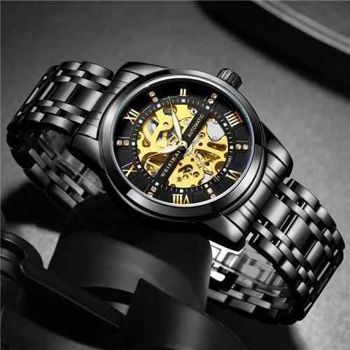 Đồng hồ nam Weisikai máy cơ tự động chuẩn men bán chạy