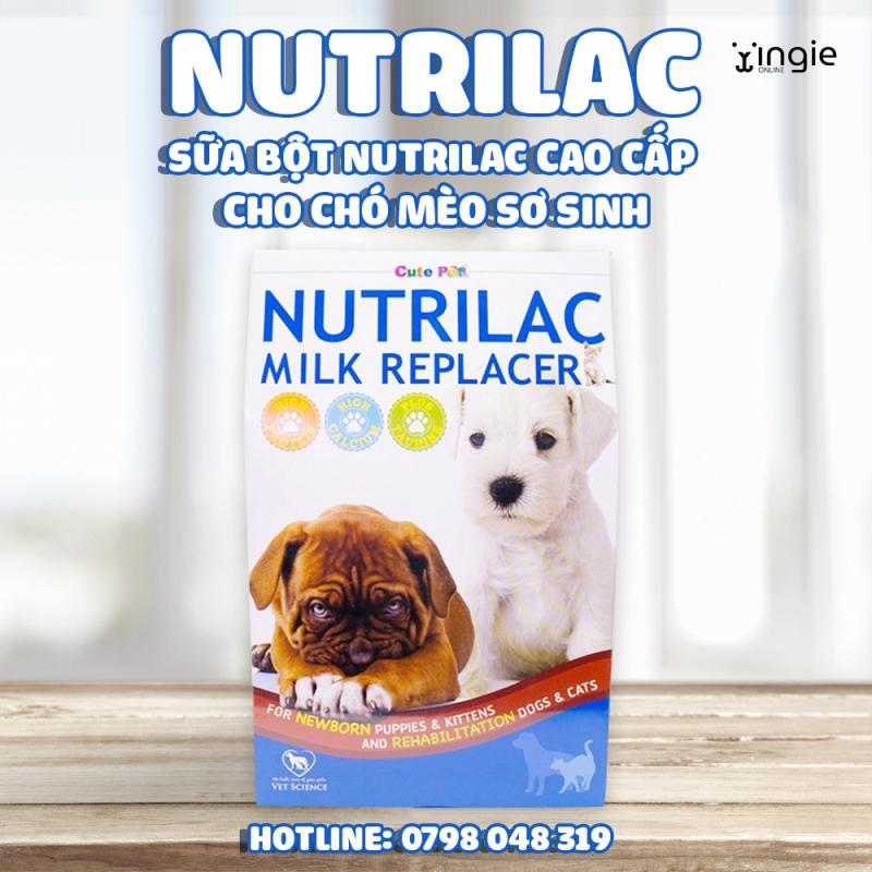 [Hàng Nhập] Sữa Bột Nutrilac Cao Cấp Cho Chó Mèo Sơ Sinh
