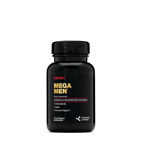 GNC Mega Men 90 viên - Thực phẩm chức năng hỗ trợ nam giới bổ sung vitamin và khoáng chất cao cấp