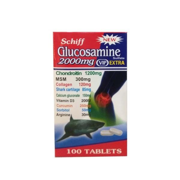 Viên Uống Bổ Xương Khớp Glucosamine 2000mg Vip Extra - Nhập Khẩu Mỹ