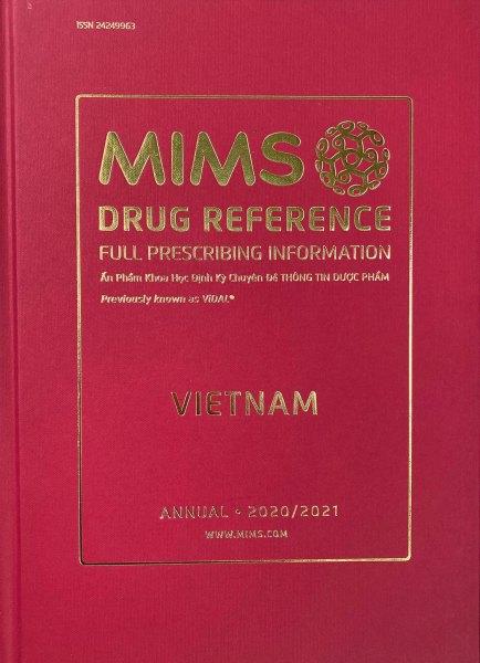 Mims(Vidal) 2021 Ấn phẩm khoa học định kỳ Thông tin Dược phẩm